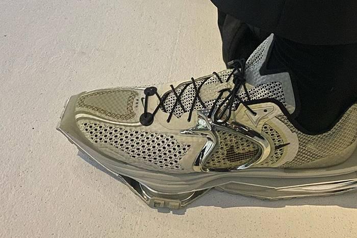 Nike Zoom MMW 4细节曝光,超时空复古未来视觉来袭