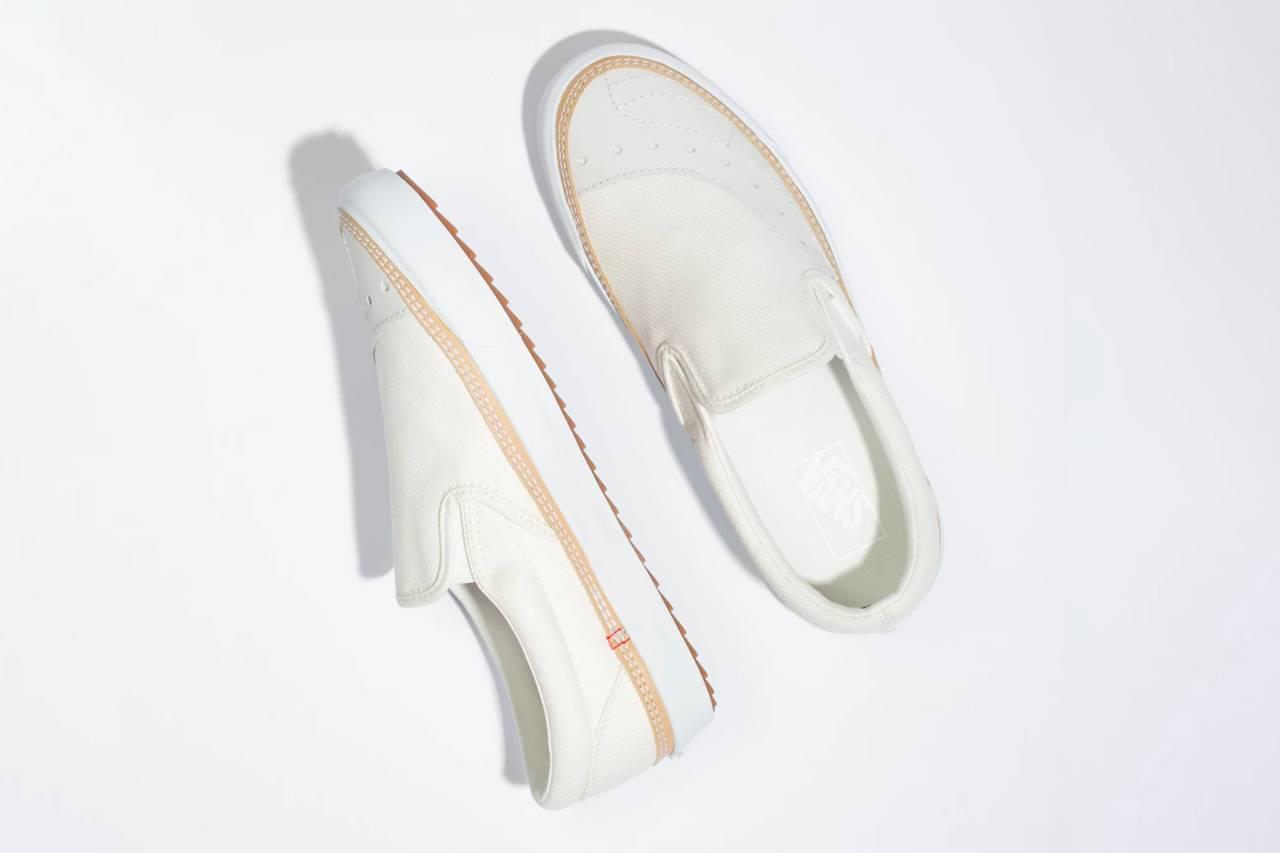 让经典球鞋散发时髦考究质感,Vans推出全新