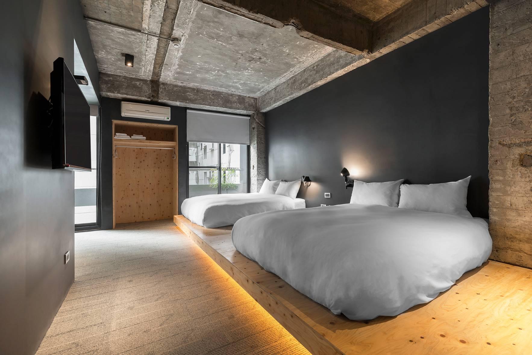 简装设计酒店,裸露的是粗糙还是风格?