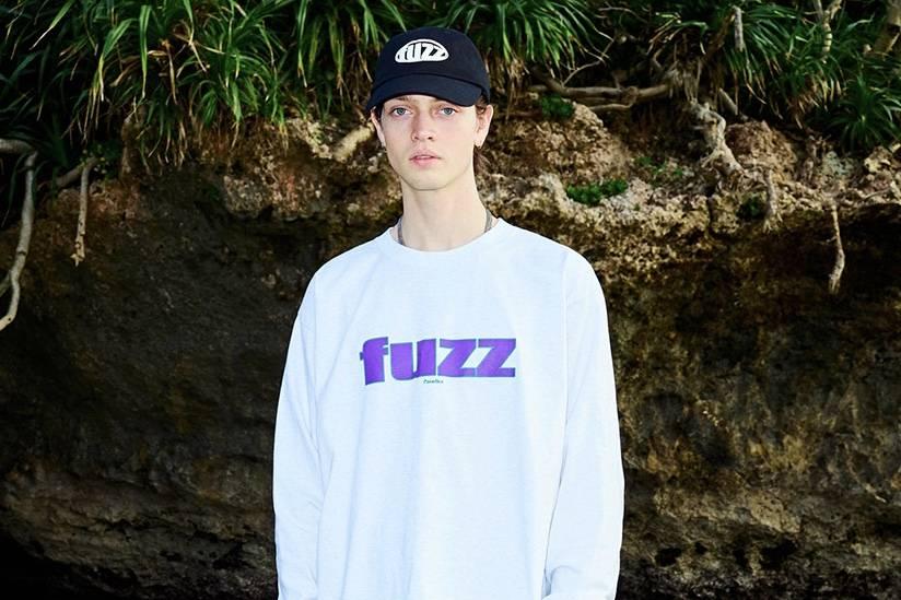 这样的造型仿佛回到70年代,韩国街头品牌fuzz发布2020春夏型录