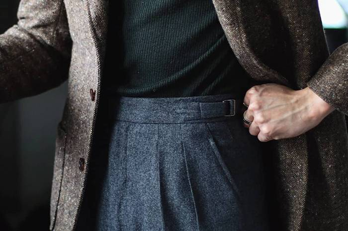 人生第一条西裤指南:好看的线条可以弥补身材缺点