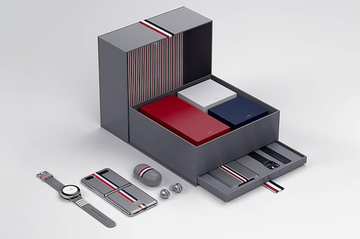 时尚西装与未来科技的智慧碰撞,Samsung x Thom Browne联名套装释出