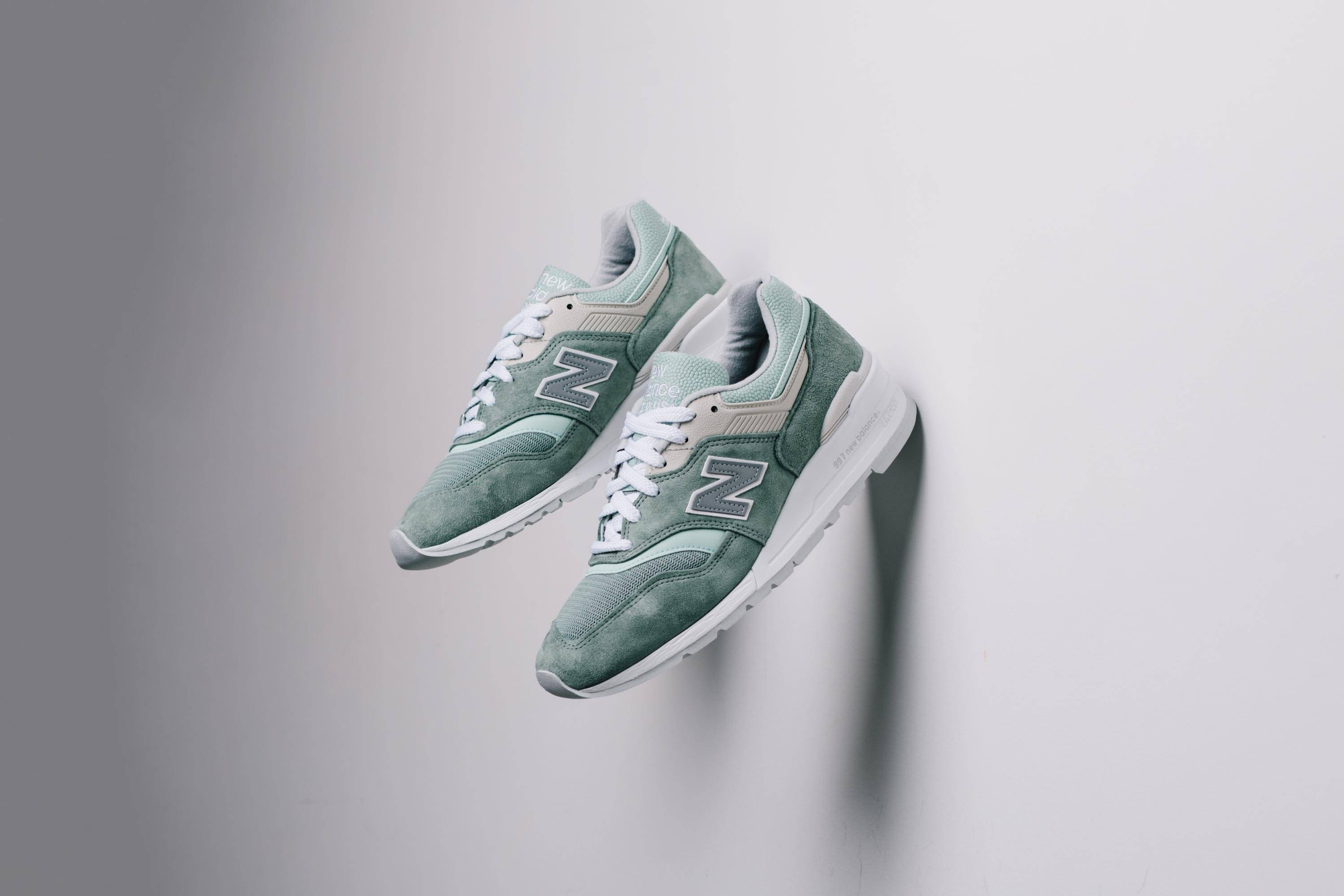 New Balance M997SOB - Mint/White 现已发售