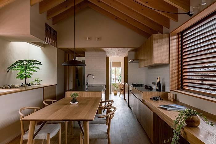 京都传统风格住宅,融入日常生活的简单空间才是家