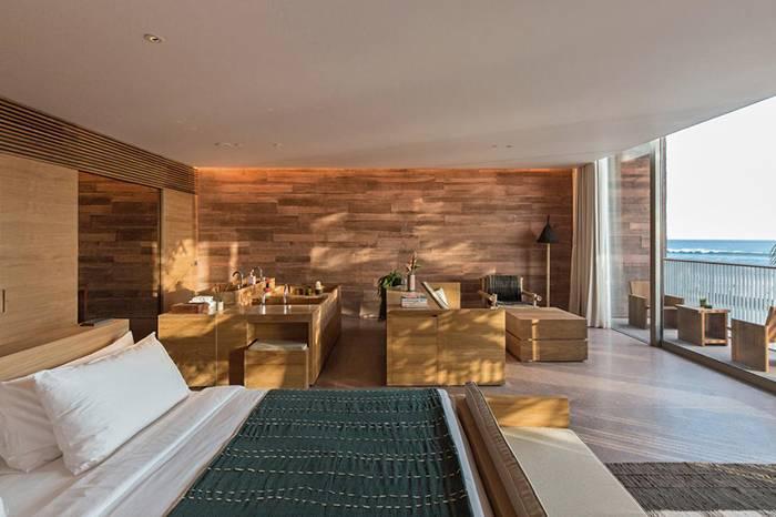 OMA酒店新作开幕, 用天然肌理和开放布局诠释另一种奢华