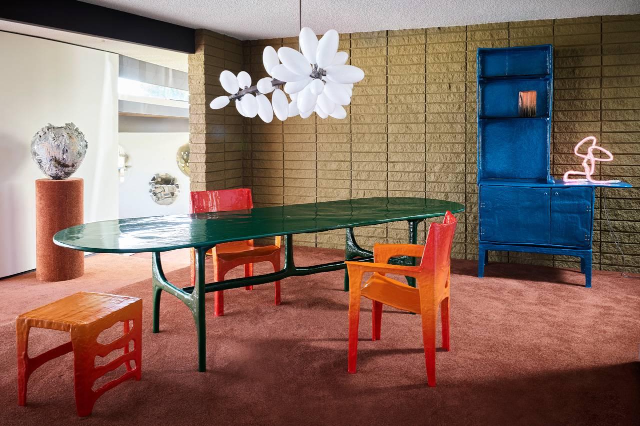 在艺术胜地Casa Perfect LA,感受Matthew Day Jackson家具作品的奇妙魅力