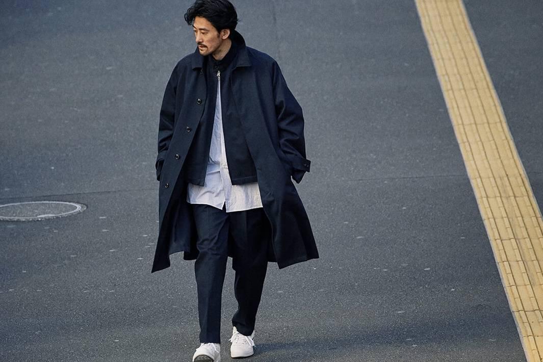 想穿上ENCEN的这股海军蓝,漫步在东京街头