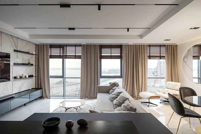 110㎡ 复式公寓,质感家居营造轻奢风格