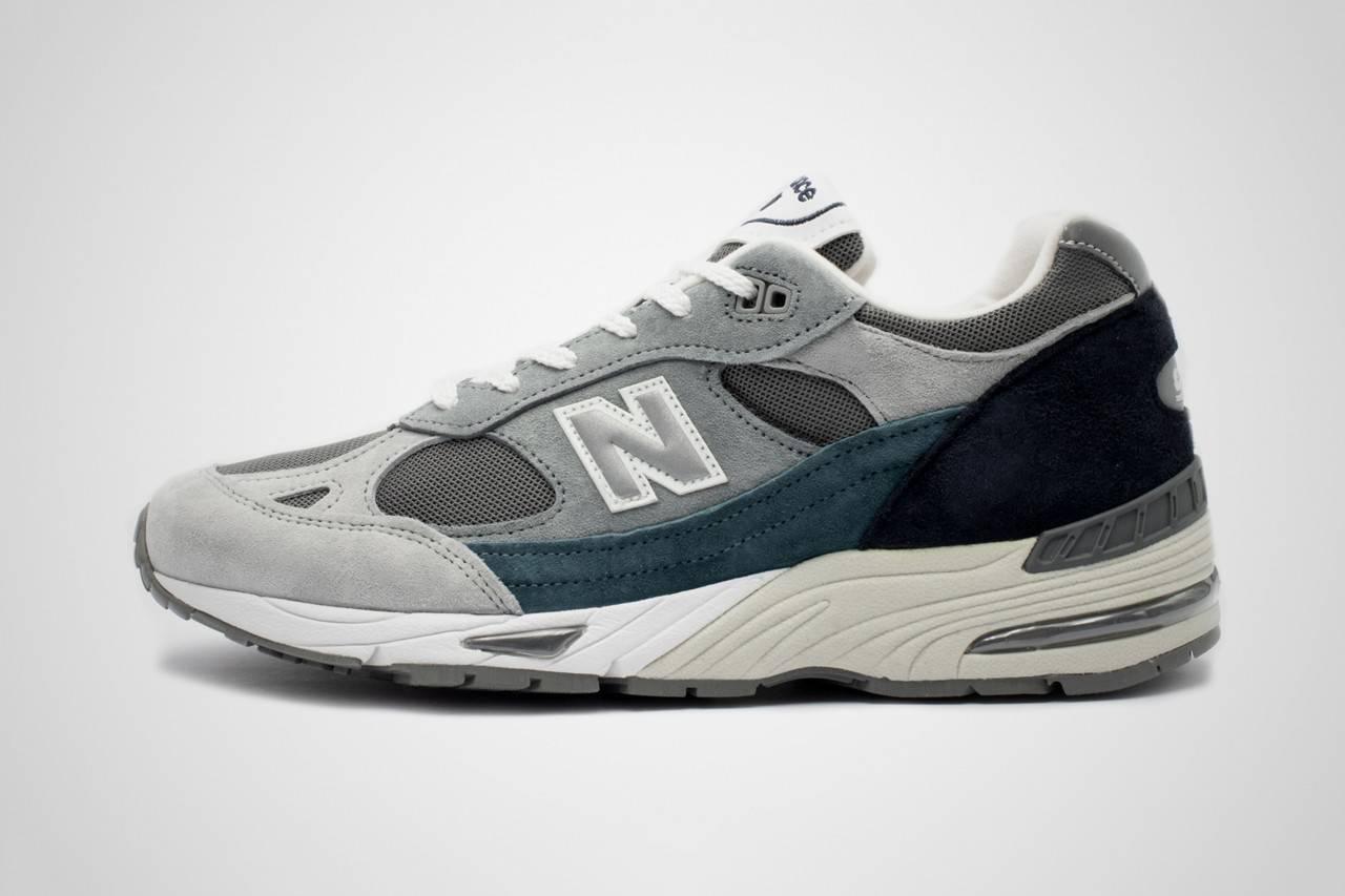 """融合优雅与静谧的感性力量,New Balance 991英产""""Grey/Blue"""""""
