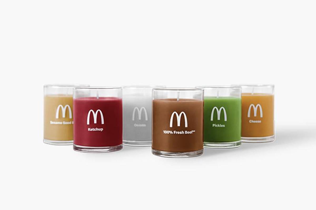 """减肥人士的""""终结者"""",麦当劳推出「汉堡口味香薰蜡烛」"""