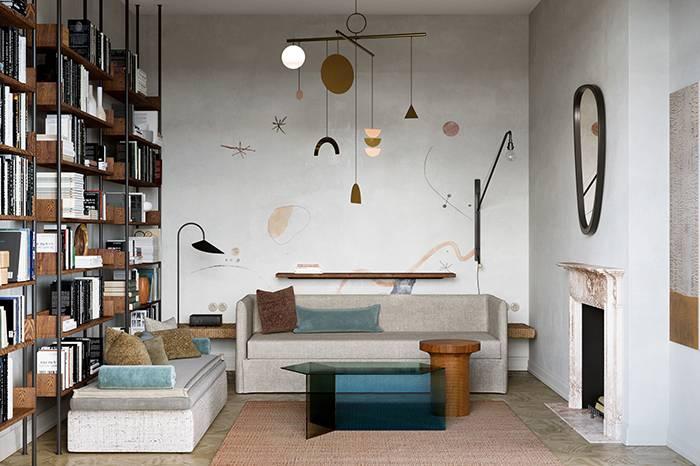 复古轻奢风设计的公寓,时尚文化品味极富格调!