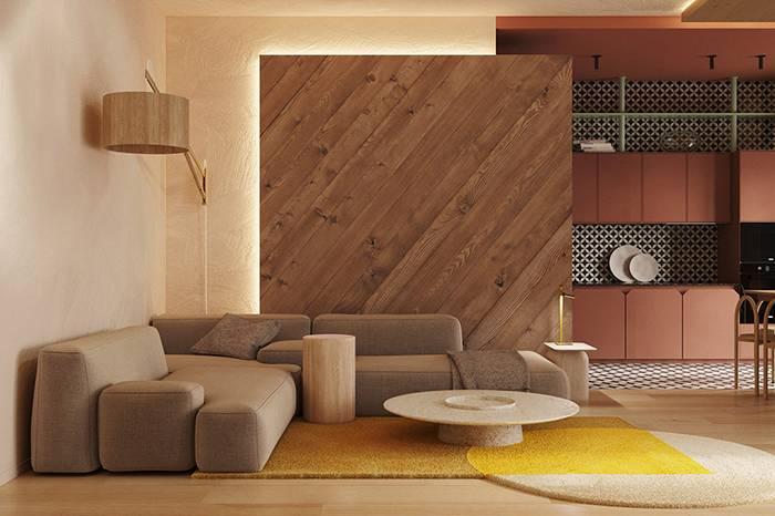 色彩与几何的碰撞,这样设计的家温馨又有趣