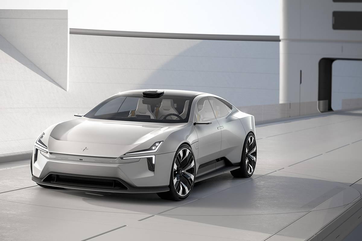 Polestar极星纯电动4门GT概念轿跑发布,让我们离未来更进一步