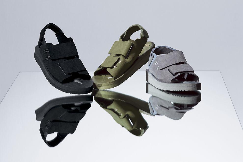 DESCENTE ALLTERRAIN联合SUICOKE推出合作款凉鞋