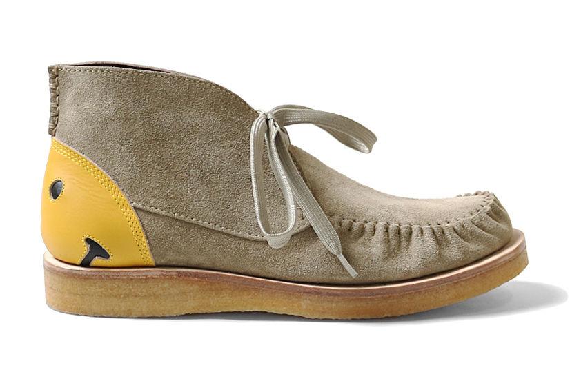 玩味而复古,KAPITAL发布Suede Dessert Smiley Boots