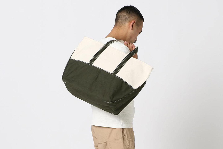 通勤包袋新方式 L.L.Bean × BEAMS PLUS联名托特包不容错过