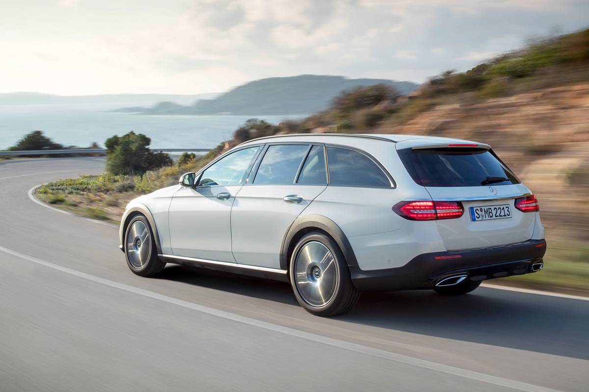 可静、可动、可豪华,奔驰全新E-Class All-Terrain全球首发