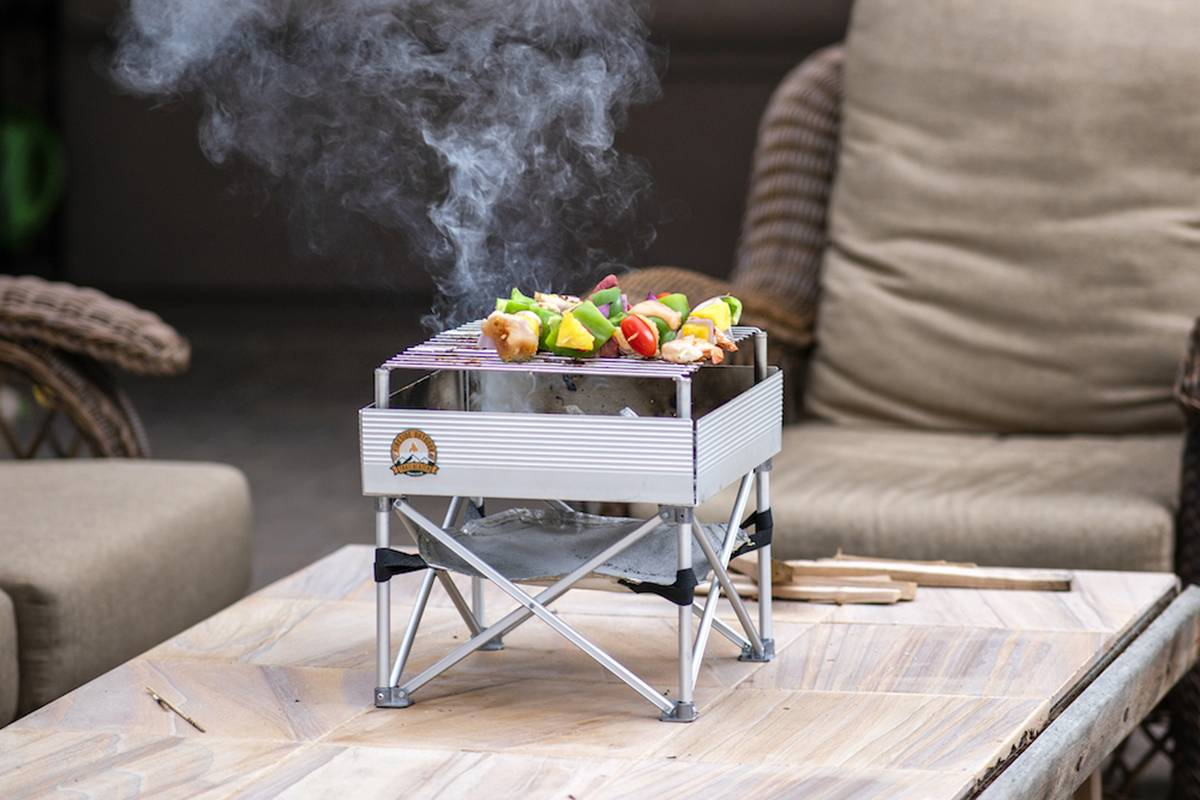 露营取暖、烧烤好伴侣,Fireside Outdoor便携营火炉