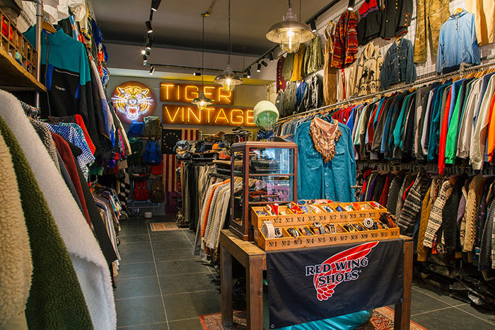 TIGER VINTAGE STORE 798店:寻找自己风格的Vintage空间
