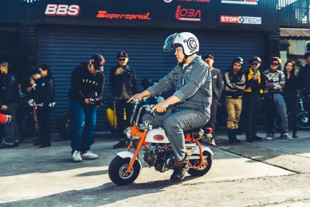 上海迷你摩托车俱乐部:每一台车代表了这个主人的性格