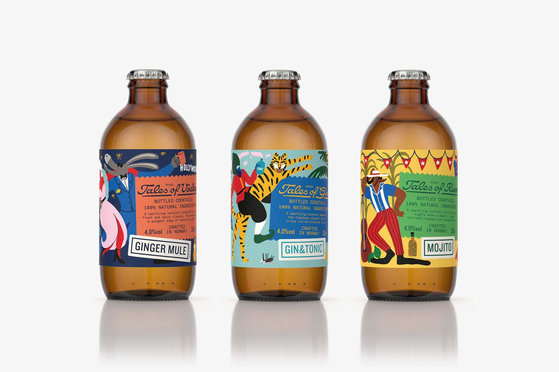 这些北欧饮品包装设计,空瓶也想收藏!