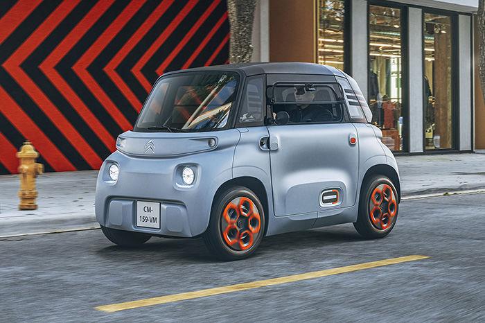 这款即将量产的摩登电动车,据说不用驾照也可以驾驶上路?