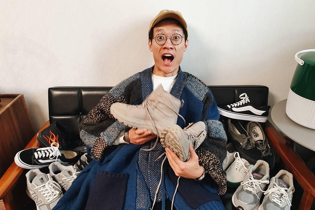 太格视频|潮流老男孩Kirk和他收藏的基本款球鞋