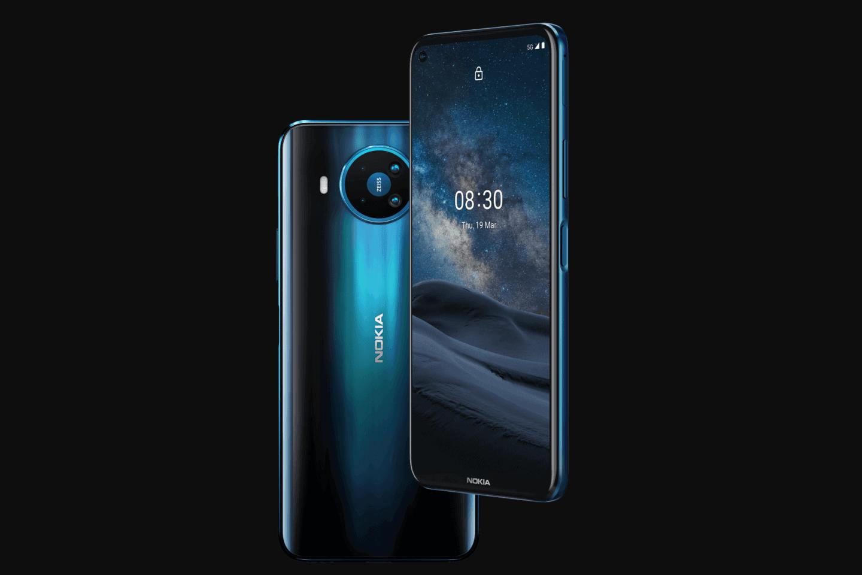 诺基亚发布Nokia 8.3 5G号称可兼容全球范围内的5G网络