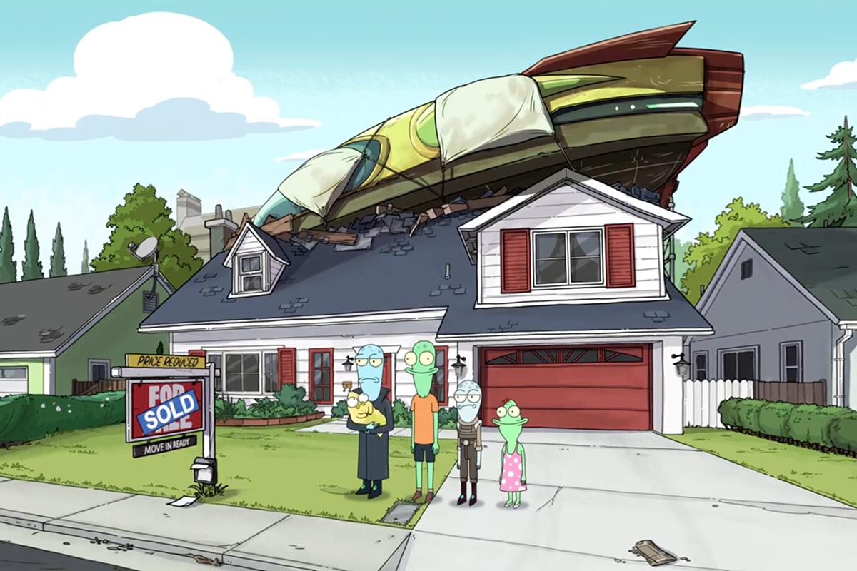 《Solar Opposites》,又是一部脑洞大开的新动画片
