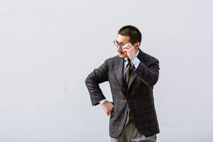 Suit Geek蔡先生:对经典男装的认识,是一个逐步的过程