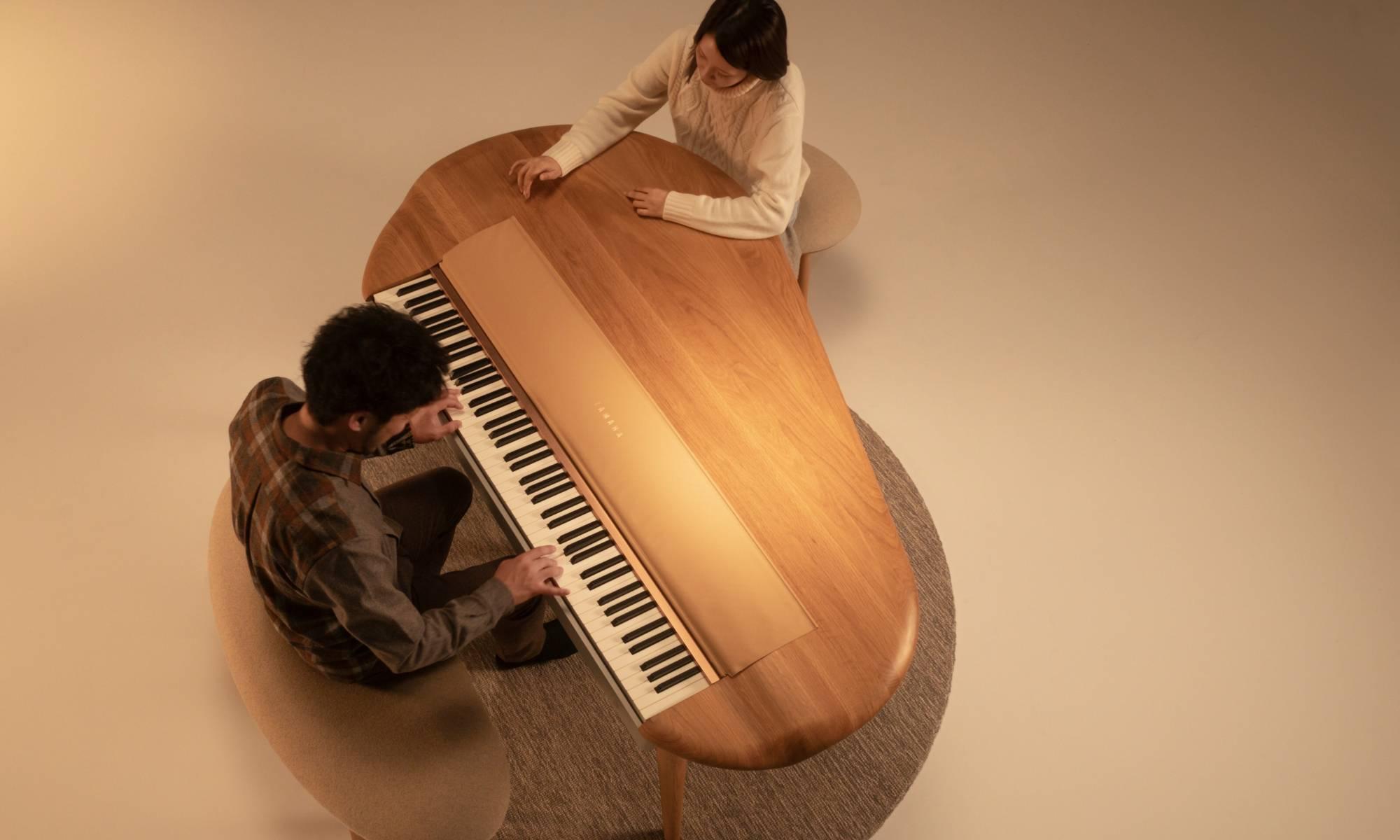 YAMAHA联手Mexarts打造全新钢琴,让家人亲情距离更近
