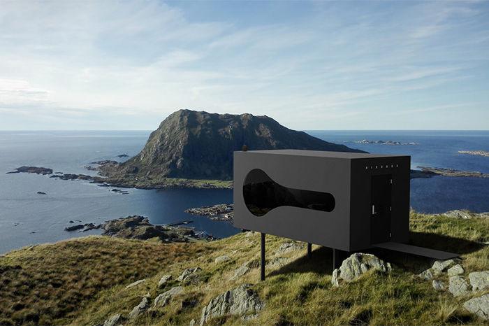 挪威Birdbox胶囊酒店 提供零距离接触大自然的新选择