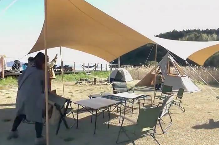 DOD × 鲸鱼岛线下露营聚会 四面环海的别样体验