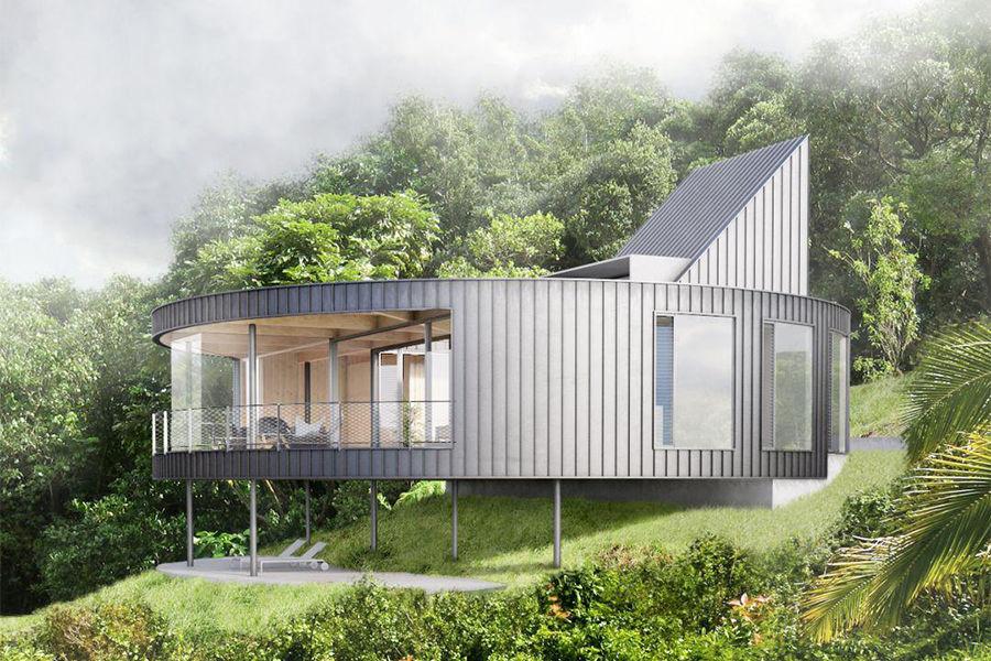 他曾为苹果设计师造房子,有个性的别墅应该这么设计!
