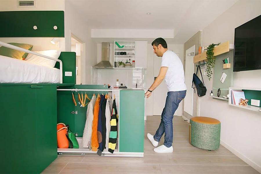 充满奥秘的小户型公寓设计 高效的空间利用率值得借鉴