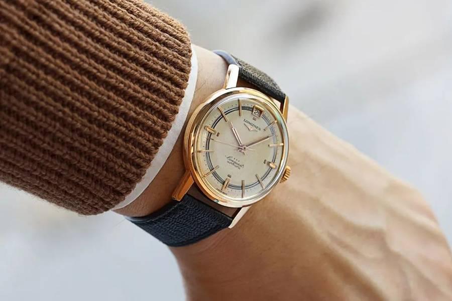 1959年浪琴古董腕表:时光在它身上留下了隽永优美的符号