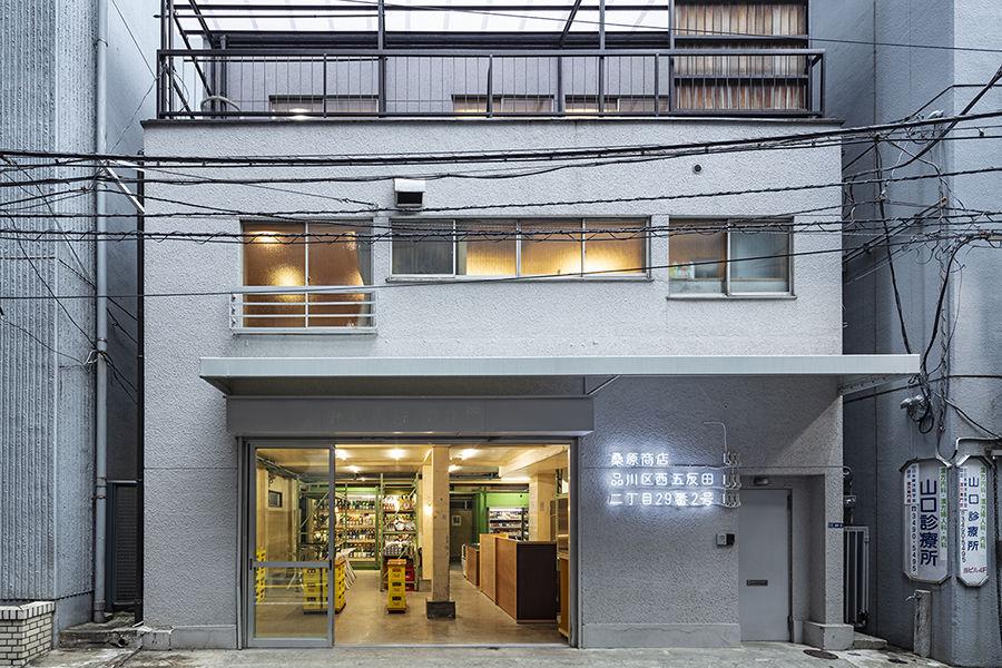 桑原商店:立于城市街角的仓库式居酒屋 承载了四代人的记忆