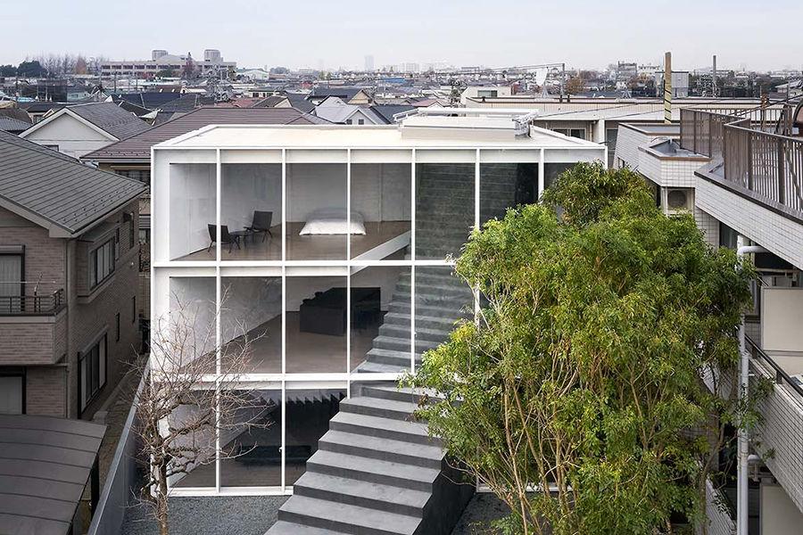 """日本设计工作室Nendo释出新作 将巨型""""天梯""""安放家中"""