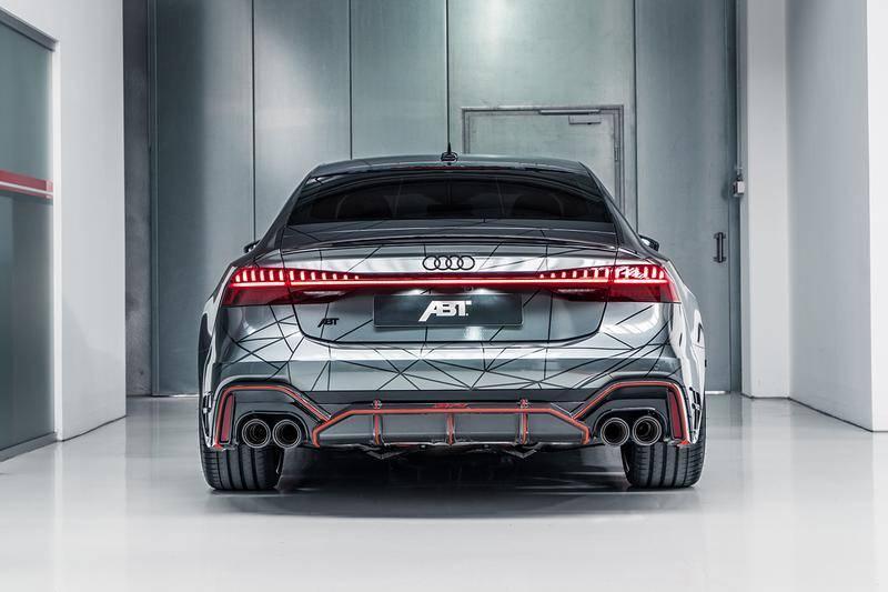 汽车界的「西装暴徒」,全新ABT AUDI RS7-R上市