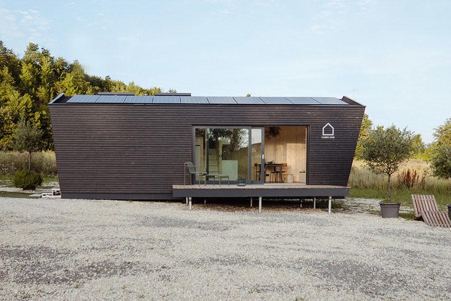 Cabin One小屋为极简生活提供理想居所 安放我们的自由灵魂