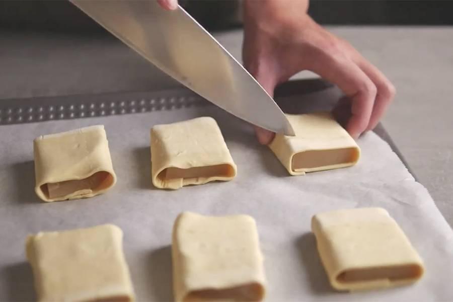家庭厨房:简单易学的金砖酥皮年糕视频教学