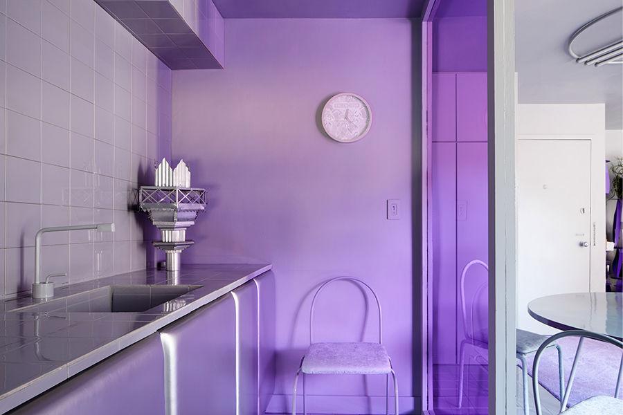 纽约设计师自宅翻新 浓郁色彩风格彰显个性