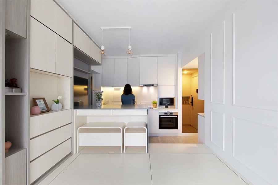49㎡小户型改造,巧用智能家居将一房瞬间变四房!