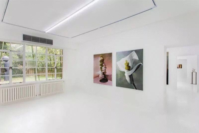 意大利画廊老板在上海的家,仿佛一个小型的室内展厅