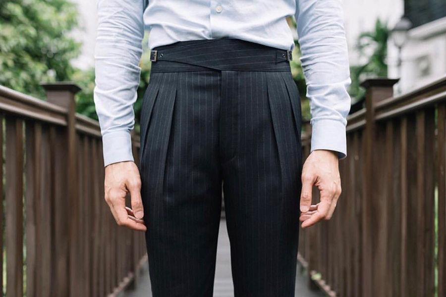 我见过最复古的裤子,就是「GURKHA裤」了