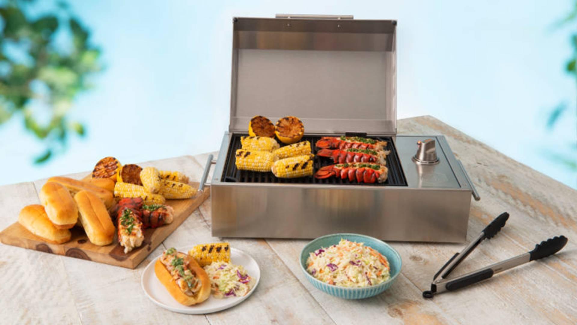 Kenyon电烧烤架,解决家中没有烧烤氛围的情况