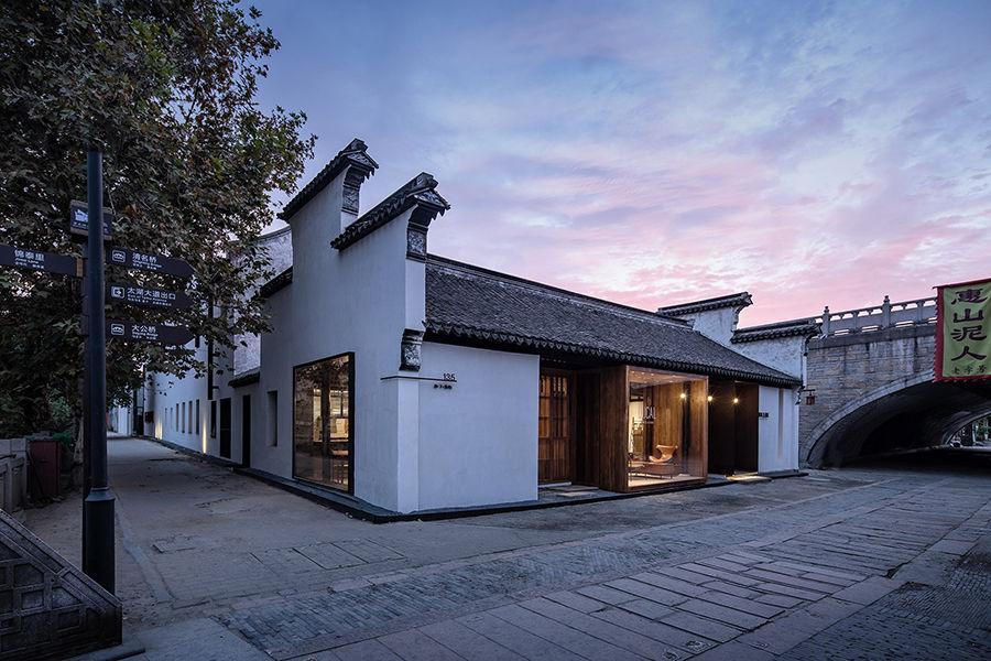 南禅寺脚下的旧居改造民宿,赋予了老宅新的活力