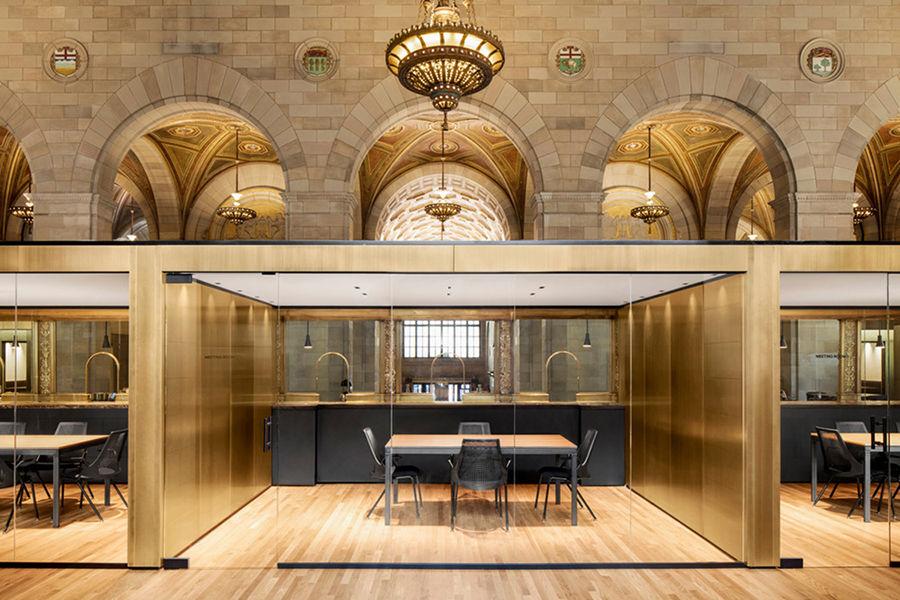 由加拿大皇家银行改建,它被评为最高雅秀气的办公空间