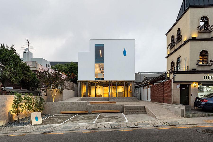 """蓝瓶咖啡首尔2号店,选址竟在城中的""""韩屋村""""里!"""