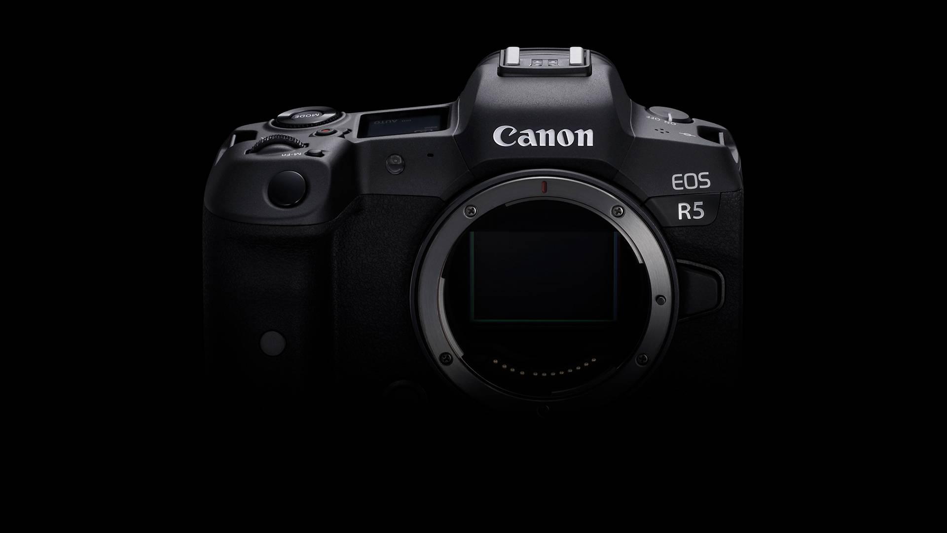 佳能EOS R5,全画幅无反相机的时代到来